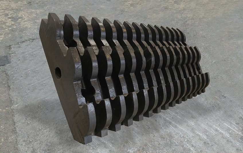 Parts and components for crushers