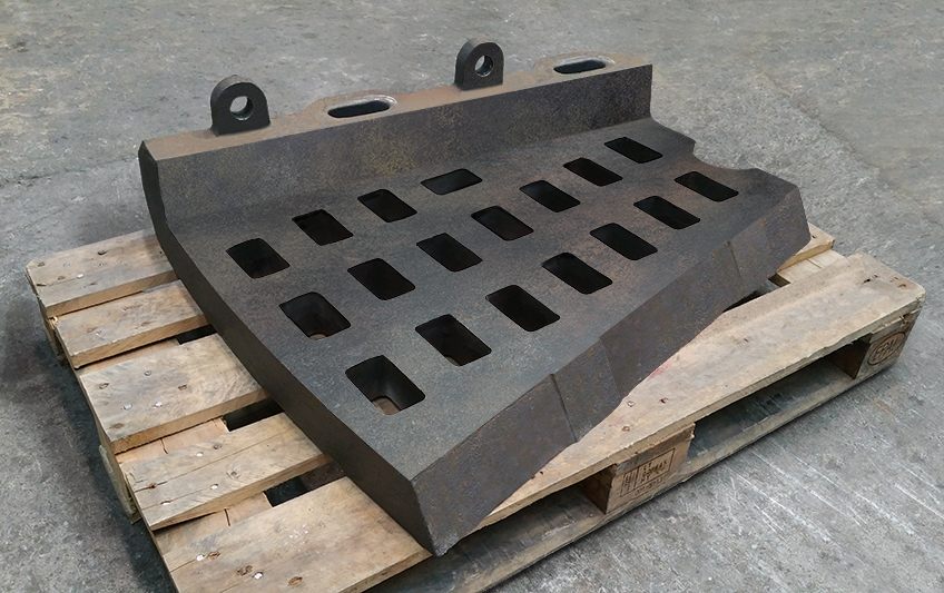 Mill inlet/outlet plates